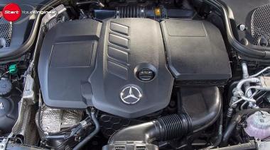 E300deのエンジン