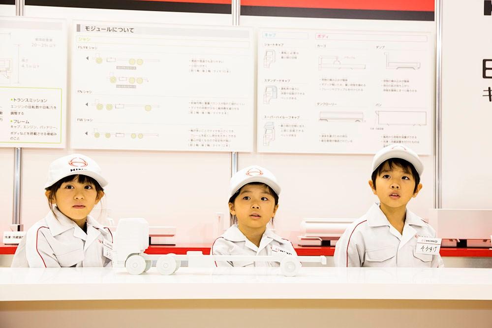 「アウトオブキッザニアの日野ブースでトラックの注文制作を体験!【東京モーターショー2019】」の3枚目の画像