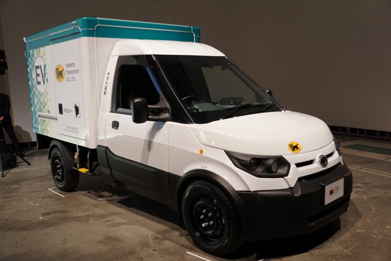 ヤマト運輸小型EVトラック