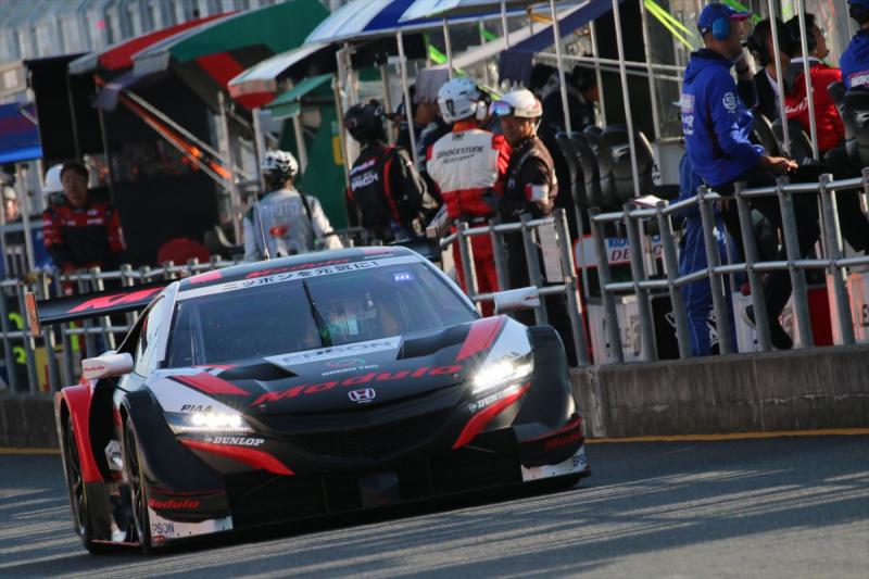 予選Q1へ臨むModulo Epson NSX-GT