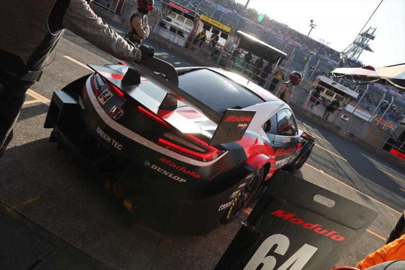 予選Q2へ臨むModulo Epson NSX-GT