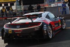 予選Q2へ臨むModulo KENWOOD NSX GT3