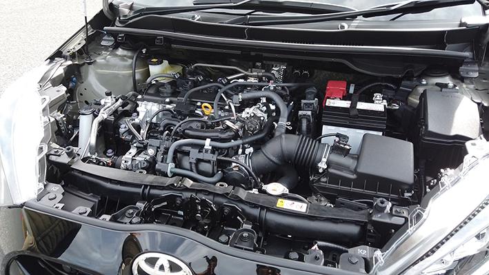 ヤリスの新型エンジン
