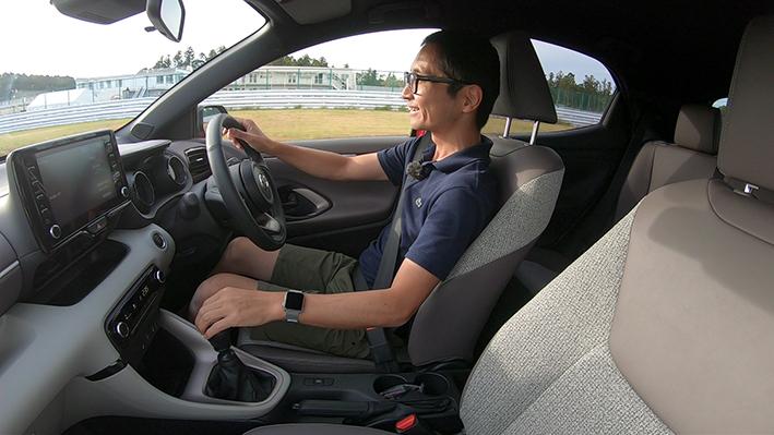 ヤリスのMT車サーキット試乗