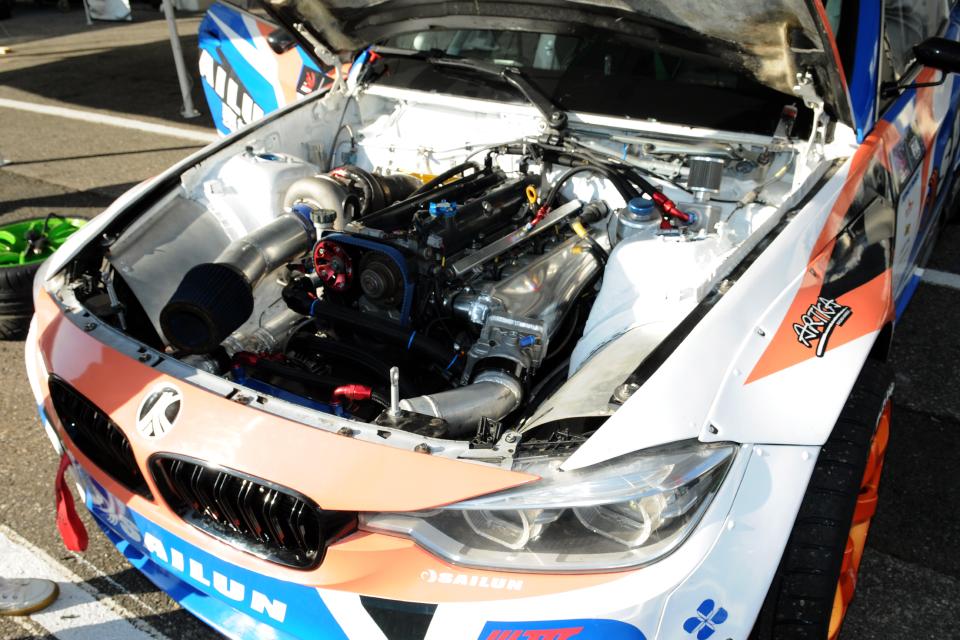 BMWに2JZ
