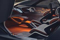 ベントレー EXP 100 GT内観