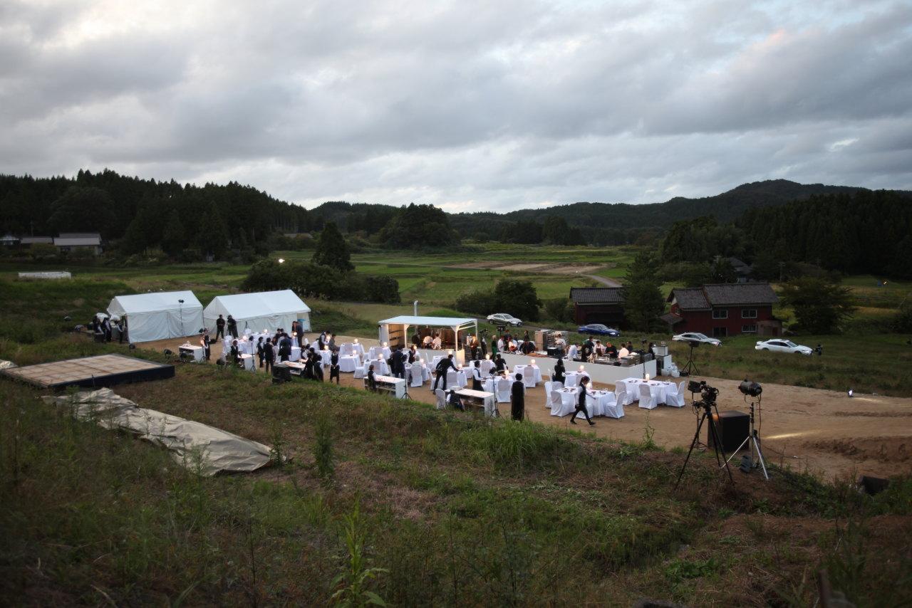 「忽然と田んぼがレストランに! 輪島の「食」と「匠」と「人」が織りなす「おもてなし」とレクサスの共通項は?【DINING OUT WAJIMA with LEXUS】」の13枚目の画像