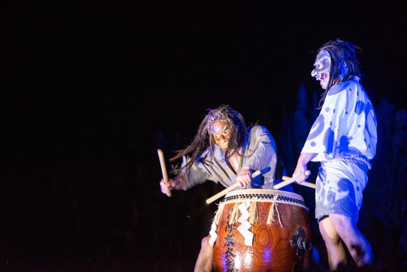石川県の無形文化財「御陣乗太鼓(ごじんじょだいこ)」