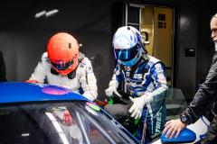 ドライバーチェンジの練習