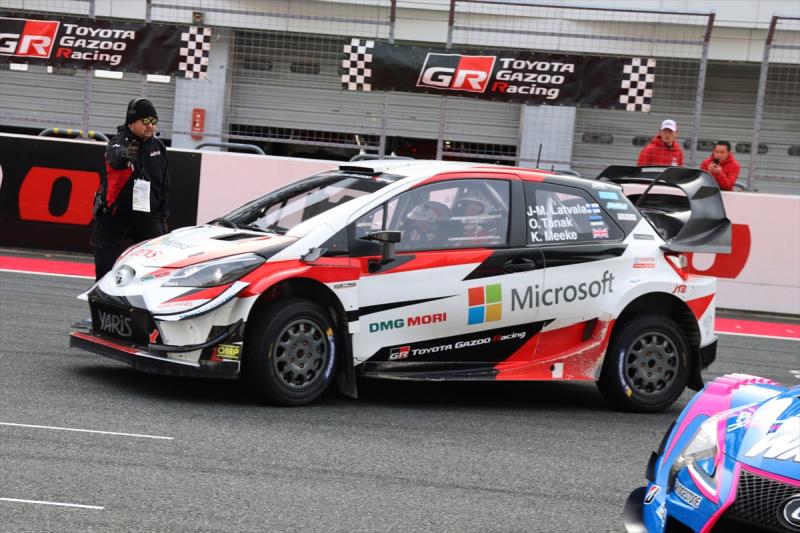 WRCチャンピオンとなったヤリスWRC