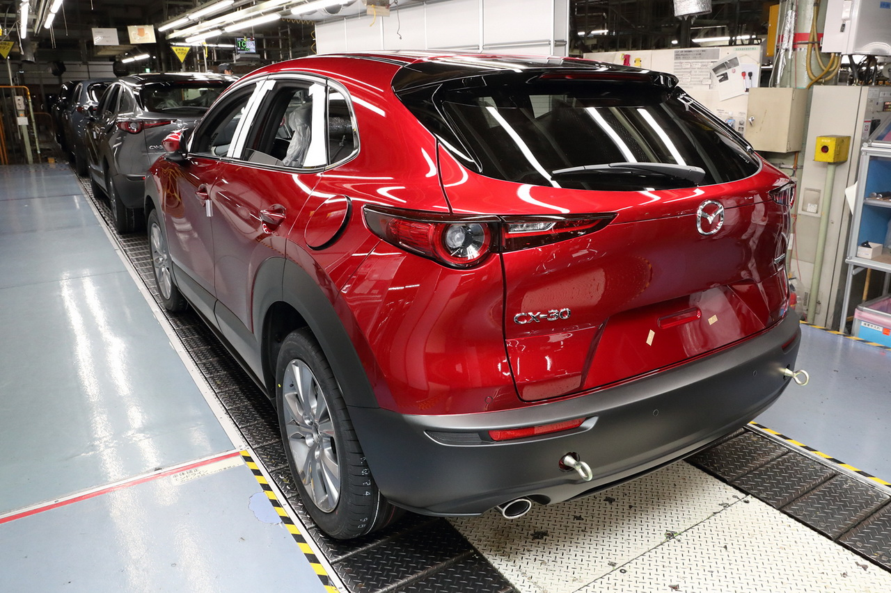 「CX-30の初期受注が好調も、マツダの国内販売は前年比マイナス30.6%なわけ【週刊クルマのミライ】」の2枚目の画像