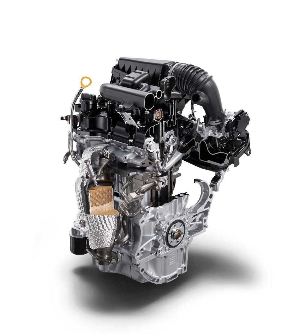 ダイハツ・タントのエンジン