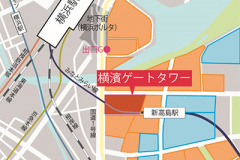 「横濱ゲートタワー」マップ
