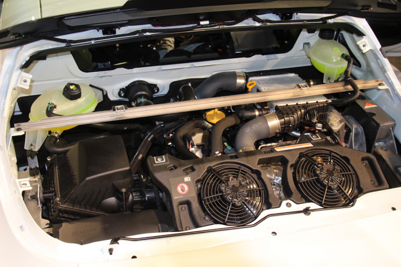 A110のエンジン