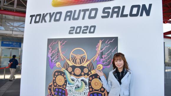 東京オートサロン2020のスペシャルナビゲーターの宮本りおさん