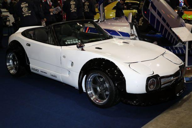 「新型スープラのオープンモデル登場!? 独創的なカスタムカーを製作するNATSの学生たち【東京オートサロン2020】」の7枚目の画像