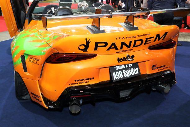 「新型スープラのオープンモデル登場!? 独創的なカスタムカーを製作するNATSの学生たち【東京オートサロン2020】」の3枚目の画像
