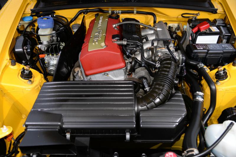 4万キロ走行の20007年式AP2のエンジンルーム
