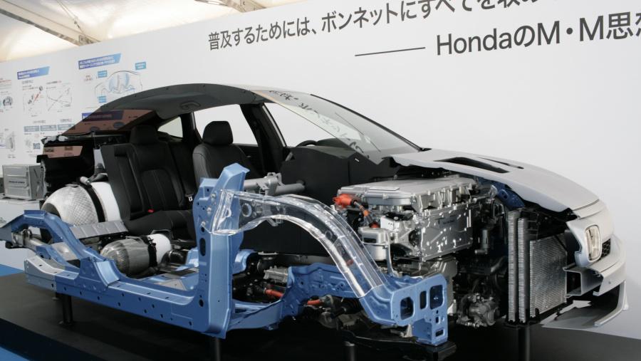 Honda Clarty FC cutaway