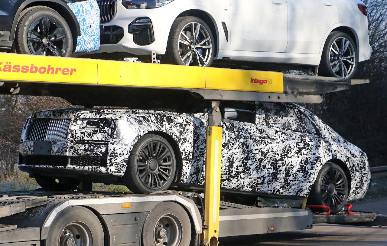 「これが最終デザインだ! ロールス・ロイス ゴーストの新型プロトタイプをキャッチ」の2枚目の画像