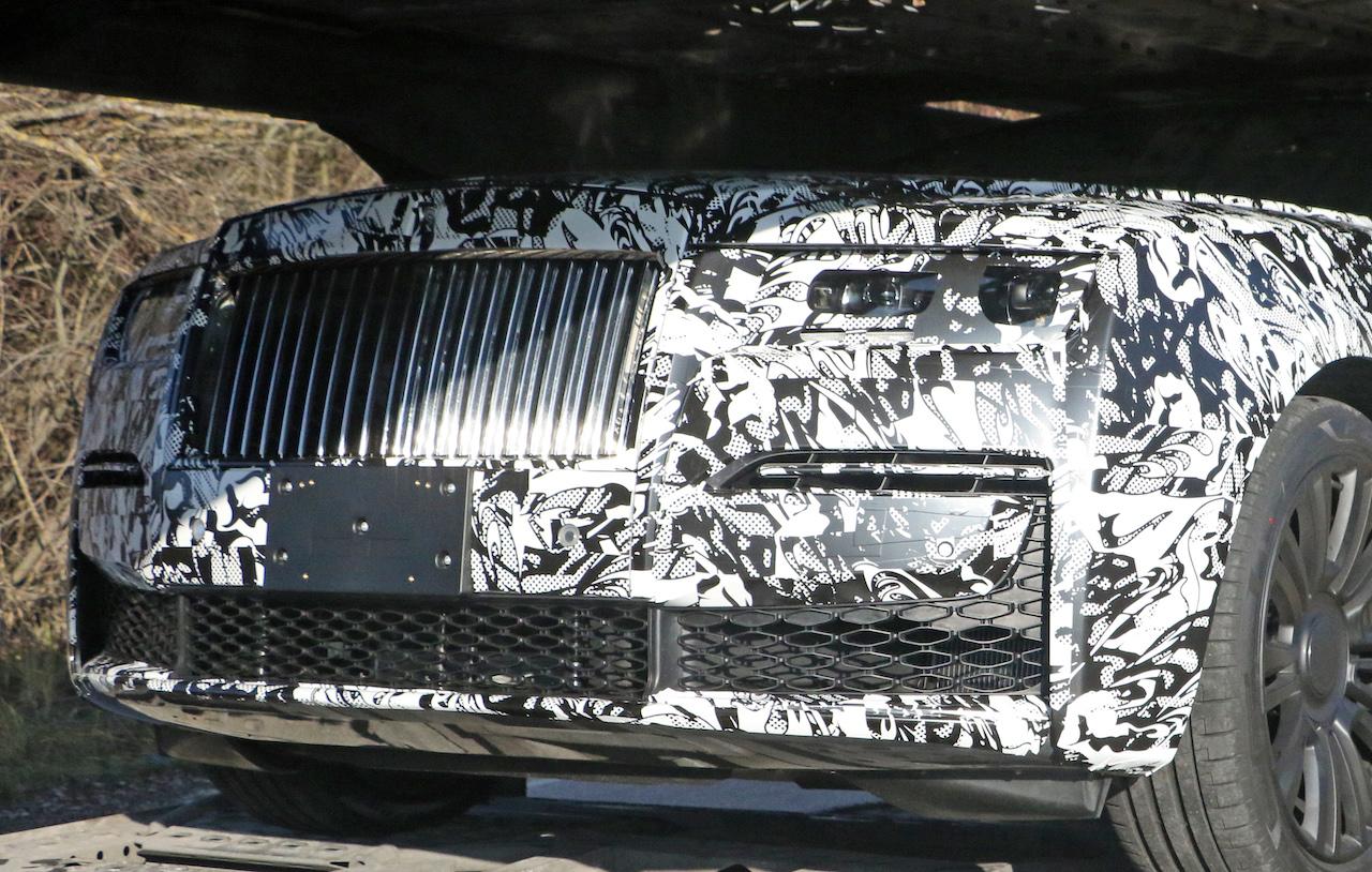 「これが最終デザインだ! ロールス・ロイス ゴーストの新型プロトタイプをキャッチ」の9枚目の画像