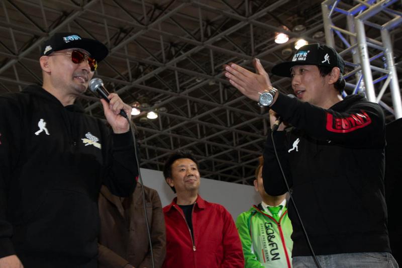 古賀琢麻選手と横山剣さん