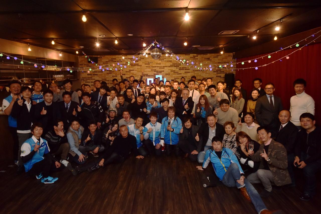 TEAM KAGAYAMAシーズンインパーティ集合写真