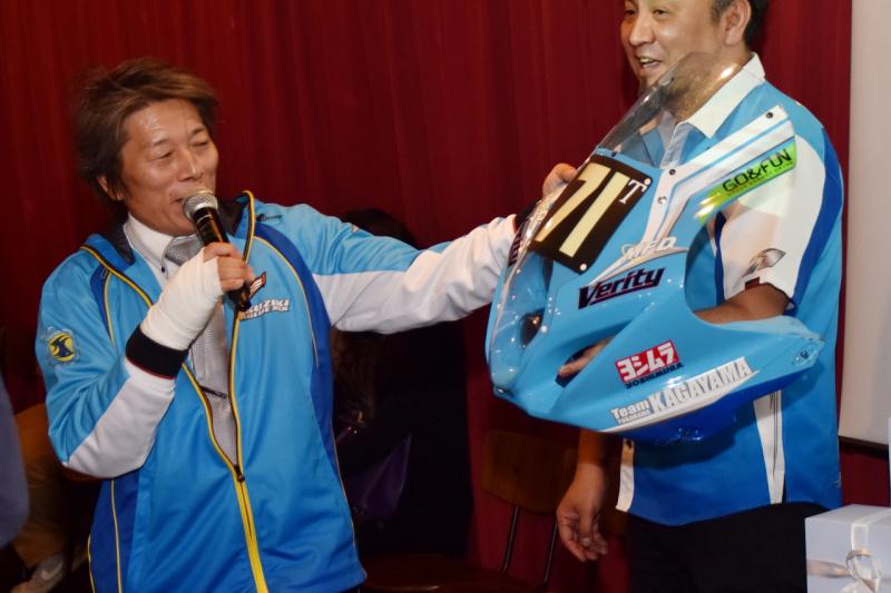 TEAM KAGAYAMAシーズンインパーティ