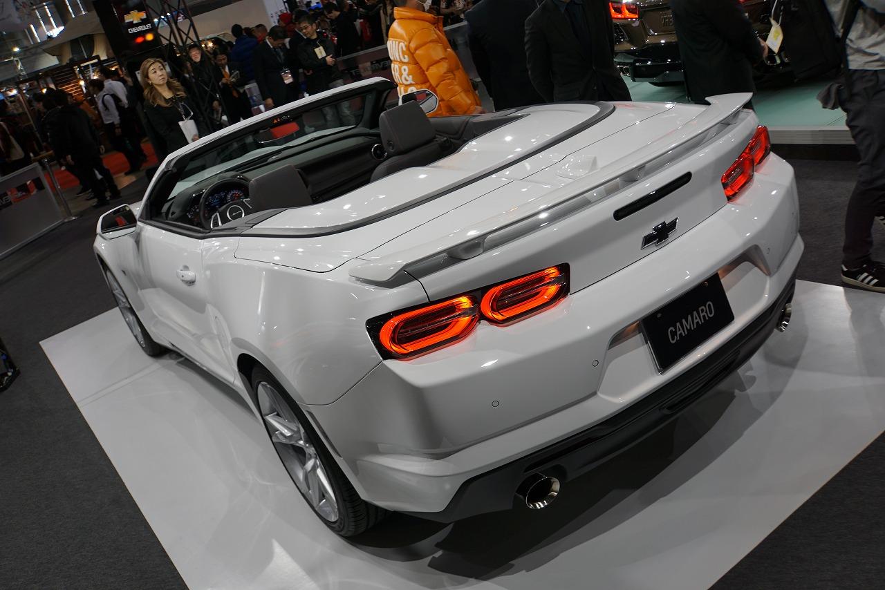 シボレー・カマロ 2020年モデル
