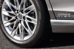 LS500hのタイヤ
