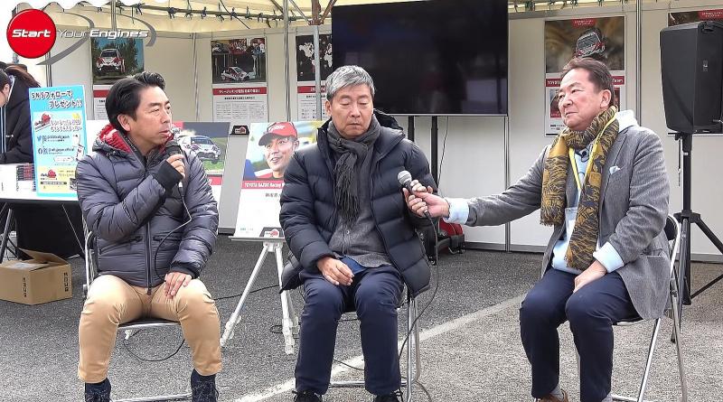3名のジャーナリストによるWRCトークショー