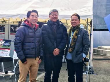 清水さん、高平さん、石井さん