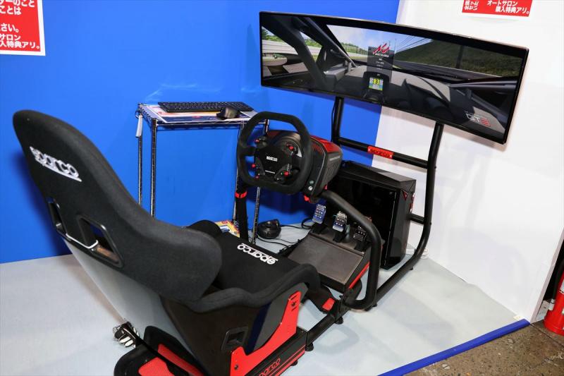 スパルコのレーシングシミュレータ