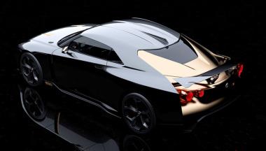 GT-R50イタルデザインリヤビュー