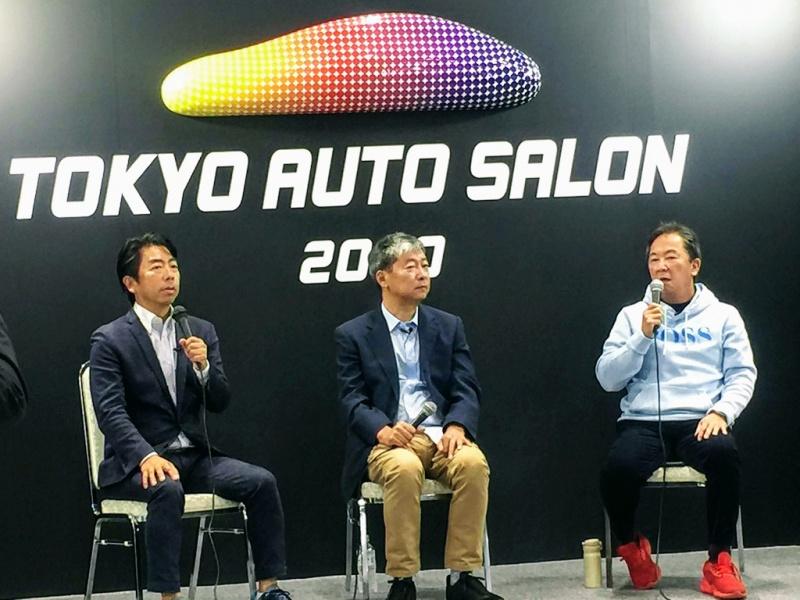 東京モーターショーでの「言いたい放題」生収録風景