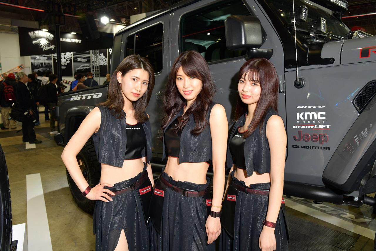 「勝手にニックネームコンテスト開催! 「TOYO TIRES」「NITTO」の女の子に愛称をつけよう【東京オートサロン2020】」の20枚目の画像