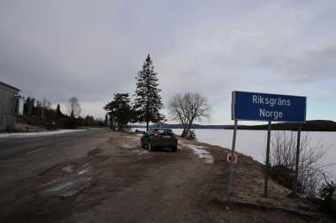 スエーデンとノルウエーの国境