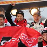 「WRCスウェーデンラリーは、トヨタが1&3位のW表彰台! あ~楽しかった!!」の8枚目の画像ギャラリーへのリンク