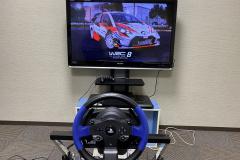 WRC8スタート画面