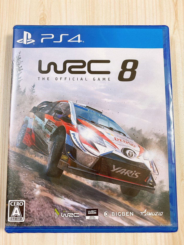 WRC8パッケージ