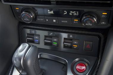 GT-R走行モードスイッチ