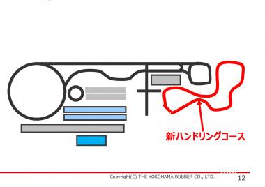 横浜ゴム テストコースレイアウト