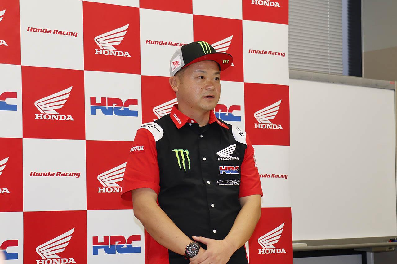 HRC 本田太一 マネージャー