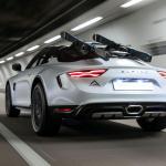 えっ、アルピーヌA110をリフトアップ?  スキーにも行けるオフロード仕様「スポーツX」初公開! - Alpine-A110-SportsX-show-car-5