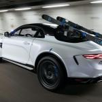 えっ、アルピーヌA110をリフトアップ?  スキーにも行けるオフロード仕様「スポーツX」初公開! - Alpine-A110-SportsX-show-car-6
