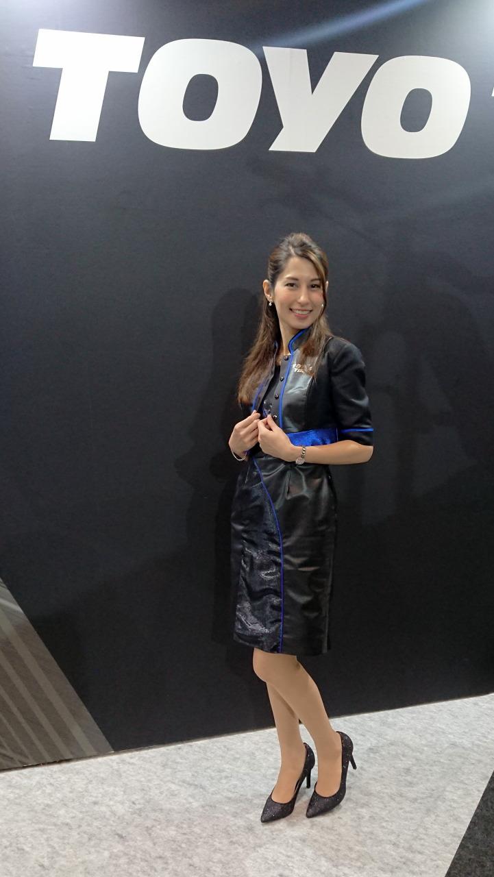 「TOYO TIRESでは美人三姉妹モデルと2人の受付嬢がお出迎え!【大阪オートメッセ 2020】」の37枚目の画像
