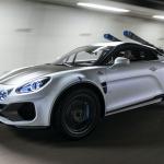 えっ、アルピーヌA110をリフトアップ?  スキーにも行けるオフロード仕様「スポーツX」初公開! - alpine-a110-sportsx-show-car-7