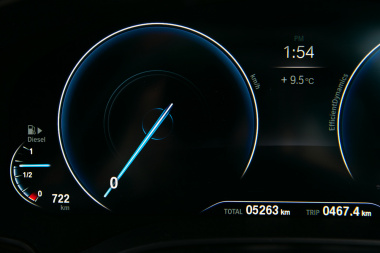 BMW6シリーズの内装01