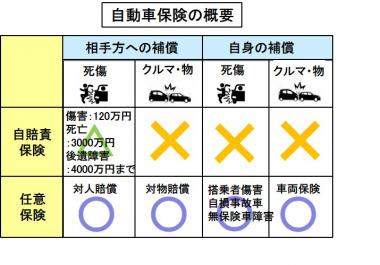 自動車保険の概要