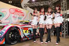 メルセデスAMG GT3とレーシングミクサポーターズ2020